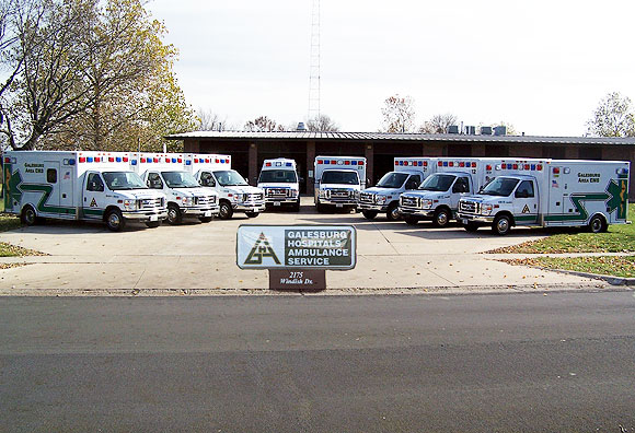 Galesburg Hospital Ambulance Service