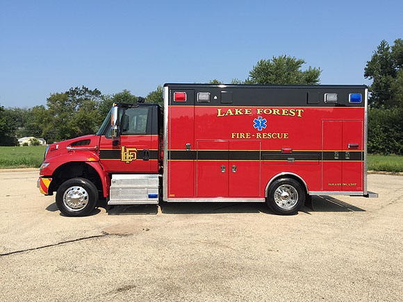 Lake Forest Fire - Rescue