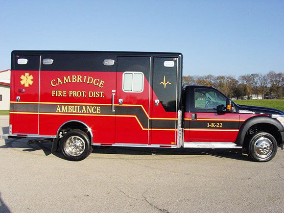 Cambridge Fire Protection District / Ambulance