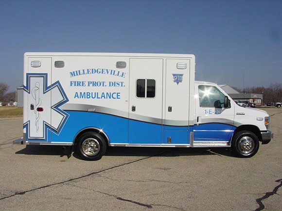 Milledgeville Fire Protection District - Ambulance