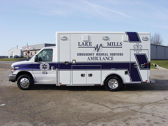 Lake Mills Ambulance
