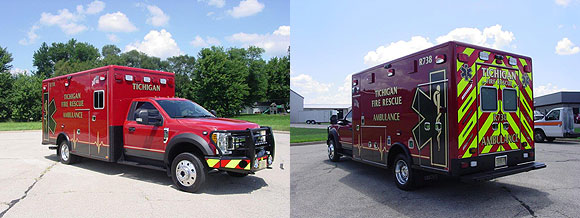Tichigan Fire Rescue Ambulance