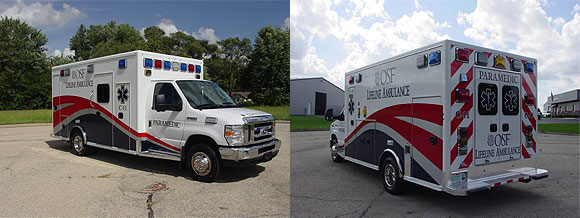 OSF Lifeline Ambulance