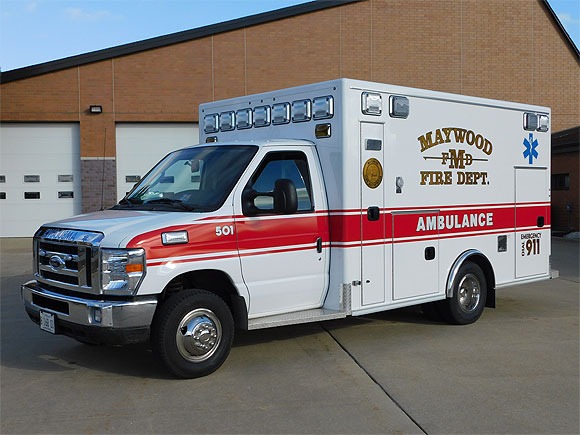 Maywood Fire Department Ambulance