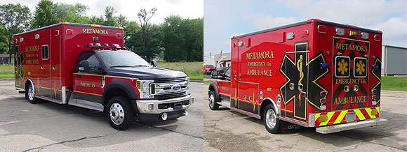 Metamora Emergency 116 Ambulance