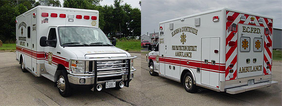 Elburn & Countryside Fire Protection District Ambulance