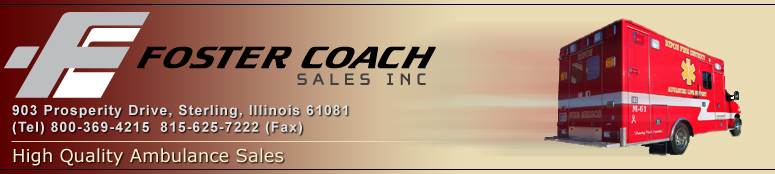 Ambulance Coach Sales