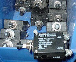 15 Amp Manual Reset Breaker