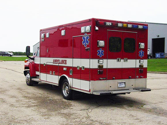 2008 Ford E450 with a Medtec Conversion